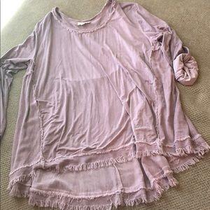 Soft boutique top - purpley pink ❤️